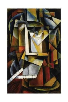 Giclee Print: Abstract Cubist Composition by Ivan Vassilyevich Klyun : 24x16in