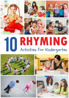 10 Best Rhyming Activities For #Kindergarten :Momjunction has compiled 10 activities to get your child interested in writing and reading.