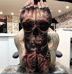 52 Best Tattoos Inspired by Classical Art and More for Handsome Mens tattoos inspired by art; tattoos inspired by books; tattoos inspired by movies; tattoos inspired by depression; tattoos inspired by history; tattoos inspired by nature Skull Tattoo Design, Tattoo Sleeve Designs, Skull Tattoos, Tattoo Designs Men, Body Art Tattoos, Tattoo Ink, Raven Tattoo, Tattoo Fonts, Outer Forearm Tattoo