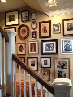How To Display Your Family Photos | StyleBlueprint