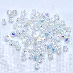 Balão preciosa 4 mm cristal AB - Maximus Tecidos   Loja Online