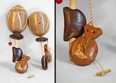 """""""Well, I've never been to Spain, But I kinda like the music...""""  Wood Maracas CASTANETS // Spanish Percussion by JeezumCrowVintage on Etsy"""
