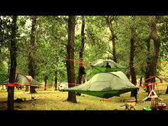 Una #casa suspendida entre #árboles | Innovación Libre | Innovación Libre