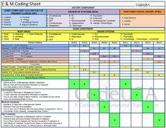 E & M Spreadsheet