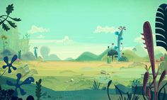 CARTOON BACKGROUNDS on Behance