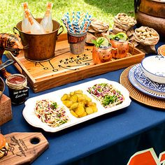 Create a Stellar Food Display - Tips for Hosting a Great Tailgate - Southern Living