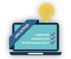 Uncapped Wireless Internet - UNSHAPPED | UNTHROTTLED | NO FAIR USAGE POLICY (FUP). Fast, reliable and affordable internet. Office Equipment