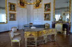 """The daughters of King Louis XV of France, known as the """"Mesdames"""" were allocated apartments leading off Lower Gallery at Versailles in ..."""