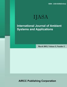 The International Journal of Ambient Systems and applications is a quarterly open access peer-reviewed journal that publishes articles which contribute new results in all areas of ambient Systems.   http://airccse.org/journal/ijasa/index.html
