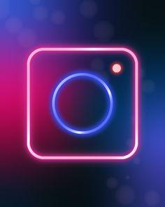 There are numerous types of graphic design. Starting with logo design, publishing design, advertisements. and web design. Purple Wallpaper Iphone, Iphone Wallpaper Tumblr Aesthetic, Iphone Logo, Iphone Icon, Minimal Graphic Design, Neon Licht, Cute App, Neon Design, Logo Design