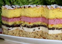 Desert Recipes, No Bake Cake, Tiramisu, Cheesecake, Deserts, Food And Drink, Pudding, Ethnic Recipes, Cake Baking