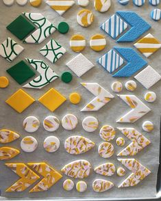 A little selection of some of the things I made today. In  with all of the yellow ones!!!