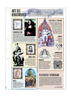 Arte del renacimiento - Old Tutorial and Ideas Art History Lessons, History Class, Art Lessons, Graffiti History, Timeline Design, Rainbow Art, Dark Ages, Love Art, Art For Kids
