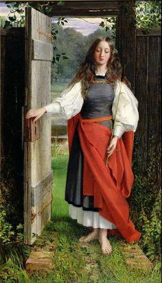 Faith. c1858. George Dunlop Leslie