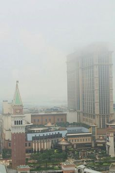 View from Venetian's room
