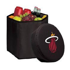 Picnic Time Miami Heat Bongo Cooler, Black