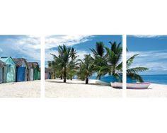 Puzzle Ravensburger Tríptico Isla Saona, Caribe de 1000 Piezas