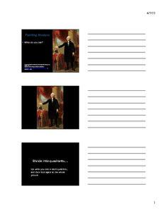 Lansdowne Analysis: Slide Handout (Lesson Presentation) American History, Revolution, Presentation, Movie Posters, Us History, Film Poster, Billboard, Film Posters