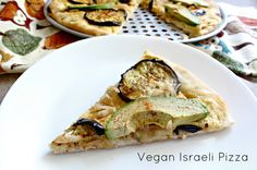 avocado, caramelized onion, eggplant, hummus