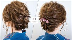 【夏祭り・花火大会の浴衣姿を美しくする2つの髪型】ミディアムボブ ヘアアレンジ
