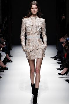 Balmain Fall 2012 Ready-to-Wear Fashion Show - Kasia Struss (Women)