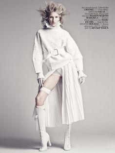 #MariqueSchimmel by #EmreUnal for #VogueTurkey April 2013
