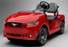 Ford Mustang Lovers - Your New Golf Cart has Arrived!