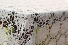 Leslie Vintage Lace Tablecloth, vintage linens for rent Dish Wish California & Hawaii Event Rentals, vintage linens for wedding, vintage bridal shower, vintage lace, lace wedding