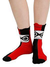 HOTTOPIC.COM - DC Comics Harley Quinn Kawaii Ankle Socks