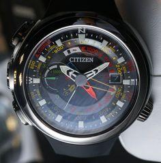Citizen Promaster Altichron Cirrus Watch Hands On   hands on