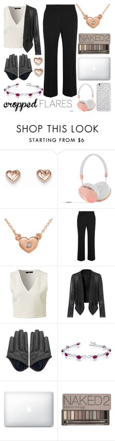 """Would you wear it: Cropped Flares"" by mlgjewelry ❤ liked on Polyvore featuring Frends, Amanda Rose Collection, STELLA McCARTNEY, Urban Decay, Felony Case, women's clothing, women's fashion, women, female and woman"
