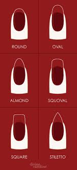 how to file nails for almond shape - Google Search