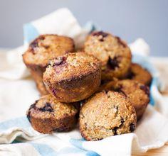 Blackberry & Blueberry Muffins  http://www.greenkitchenstories.com/blackberry-muffins/
