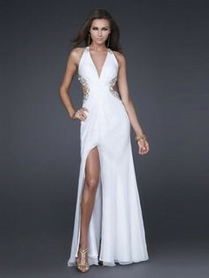 Empire V- образным вырезом без рукавов длиной до пола, шифона вечернее платье невесты 225,73 руб 128,99 руб