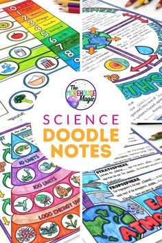 High School Science, Elementary Science, Science Classroom, Science Education, Teaching Science, Science Activities, Middle School Science Projects, Sixth Grade Science, Science Doodles
