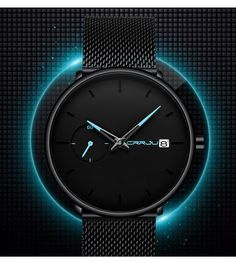 Ultra Thin Casual Style Watch Casual Watches, Cool Watches, Watches For Men, Men's Watches, Waterproof Sports Watch, Mens Sport Watches, Popular Watches, Wooden Watch, Mechanical Watch