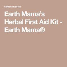 Earth Mama's Herbal First Aid Kit - Earth Mama®