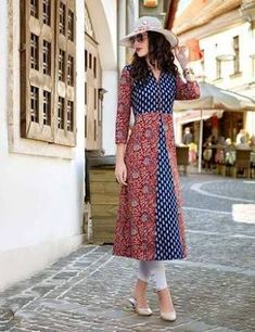 Image result for latest cotton kurti designs for stitching