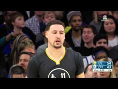 Klay Thompson Drops 32 on the 76ers