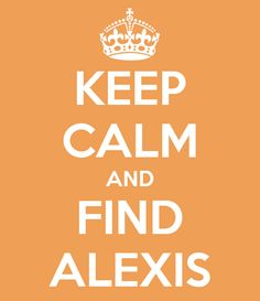 Save Alexis