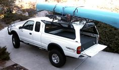 Tacoma Camper - we could build this in Mitch's truck! Toyota Tacoma Camper Shell, Toyota Camper, Toyota Trucks, Truck Cap Camper, Truck Camper Shells, Pickup Camper, Toyota Tacoma Access Cab, Toyota Tacoma Double Cab, Quad