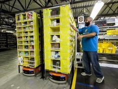 Amazon robotics for new Warrington site - http://www.logistik-express.com/amazon-robotics-for-new-warrington-site/