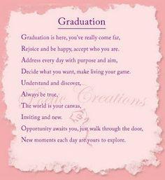 Graduation Poems