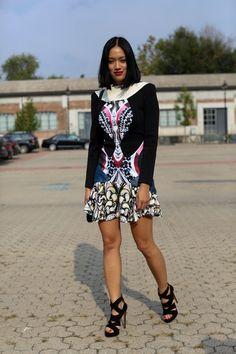 Milan Fashion Week Spring 2014 Attendees Pictures - StyleBistro