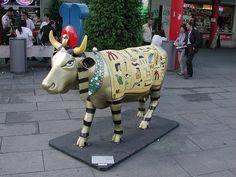 Cow Parade Cow Parade Milano 2007 by Kekko73, via Flickr  Egyptian Cow