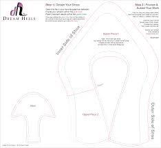 high heel shoe template for fondant - Google Search