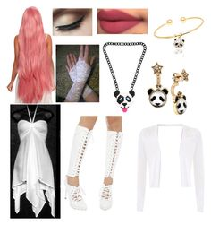 """""""Fluttershy"""" by angel-oasis on Polyvore featuring Privileged, Twinz Berry and Betsey Johnson"""