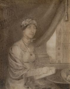 Biographer Dr Paula Byrne is convinced that 'imaginary portrait' was actually drawn from life