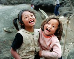 Nepali children. They are so beautiful!