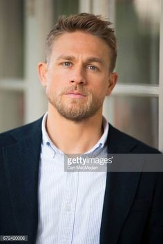 Actor Charlie Hunnam is photographed for USA Today on April 13 2017 in Los Angeles California Hair And Beard Styles, Hair Styles, Gay Beard, Handsome Faces, Charlie Hunnam, Hot Actors, Looks Style, Good Looking Men, Bearded Men